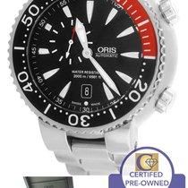 Oris Carlos Coste 2000m LE 47mm Black Red Titanium Dive Watch