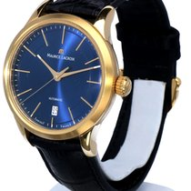 艾美 (Maurice Lacroix) Les Classiques Date Mens Watch Steel Blue...