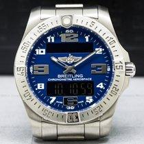 Breitling E7936310/C869 E79363 Aerospace EVO Titanium / Blue...