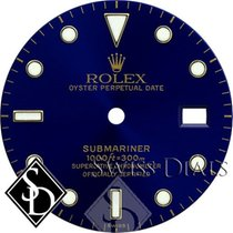 Rolex Submariner Blue Index Marker Swiss Dial Two-Tone