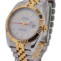 Rolex Used 116263_used_white Turn-O-Graph 2-Tone Datejust -...