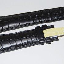 IWC CROCO Lederband,Schwarz 22/18 mm