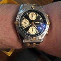 Breitling Chronomat Gt Chronograph Gold / Stahl Automatik