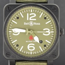 Bell & Ross Military Type Ceramic, Full Set 2010 MINT...