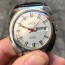 Linus 39 mm automatico automatic vintage eta day date