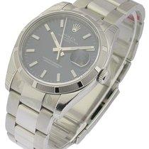 ロレックス (Rolex) Unworn 115210 Mens DATE with Oyster Bracelet -...