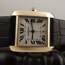Cartier Tank Francaise automatic ref. 1840 28 x 32 mm yellow gold