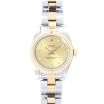 Rolex Oyster Perpetual None Date 18ct Yellow Gold & Steel...