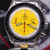"Omega Speedmaster ""schumacher"" Yellow Chronograph 38mm..."