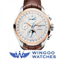 Baume & Mercier Clifton Two-Tone Chronograph Complete...