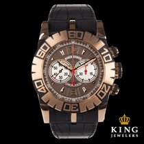 Roger Dubuis Easy Diver Chronograph 18k Rose Gold