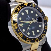 Rolex Gmt-master II 116713 Oyster 18k Yellow Gold /ss Ceramic...