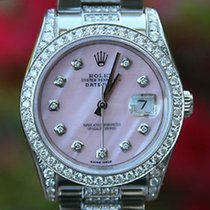Rolex Datejust Stainless Steel 116200 36mm Ladies Diamond Band...