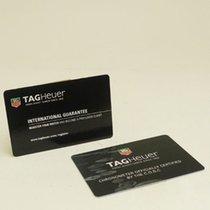 TAG Heuer Warranty Card