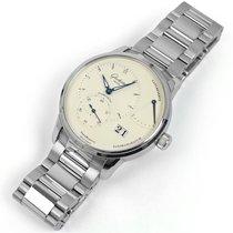 Glashütte Original PanoReserve White Dial Steel Bracelet...