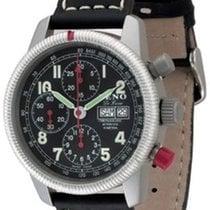 Zeno-Watch Basel Classic Pilot Chrono De Lune