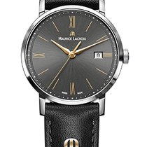 Maurice Lacroix Eliros Date Ladies Black Dial, Gold Hands,...