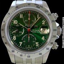 튜더 (Tudor) Tiger Chronograph Green Dial New Box Papers 79280