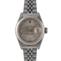 Rolex Datejust Ladies with Original Silver Diamond Dial,...