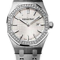 Audemars Piguet Royal Oak Ladies 33mm Quartz Diamond Bezel