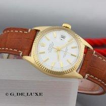 Rolex Datejust 18K Gold Herrenuhr Referenz 1601