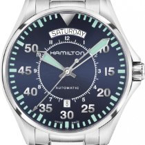 Hamilton Khaki Aviation H64615145 Herren Automatikuhr Sehr gut...