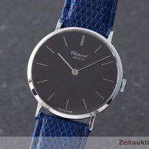 Chopard 18k (0,750) Weissgold Handaufzug Herrenuhr Ref.: 1013...