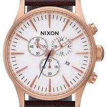 Nixon Sentry Chrono Leather A405-2459 Herrenchronograph Design...