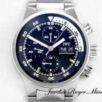 IWC Aquatimer IW 3719 Edelstahl Chronograph Automatik