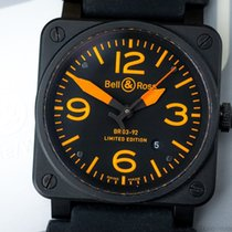 Bell & Ross Aviation Orange Ltd. xxx/250 steel/PVD