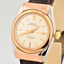 Rolex Bubbleback Hooded Lugs Pink Rose Gold Stainless Steel...