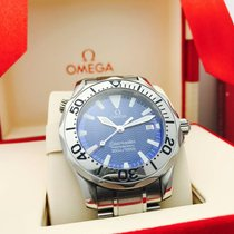 Omega Seamaster Mid-Size Blue Dial