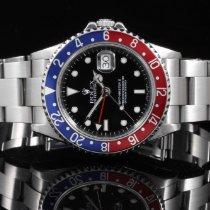 Rolex 16710 SS GMT-Master II w/ Pepsi Bezel & 40mm No...
