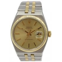 Rolex Datejust OysterQuartz 18k Yellow Gold & Stainless...