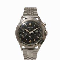 レマニア (Lemania) Single Pusher Military Chronograph,Switzerland,...
