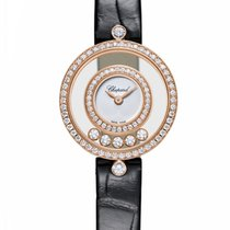 ショパール (Chopard) Happy Sport Icons 18K Rose Gold & Diamonds...