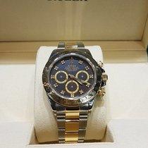 Rolex Daytona gold/steel zenith diamond dial