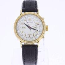 Movado 14K Gold Calendar Vintage Watch