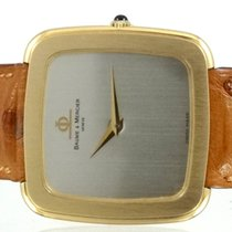 Baume & Mercier Coussin TV or jaune cira 1980 Plate