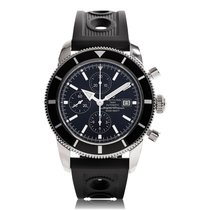 Breitling Superocean Heritage 46mm Black Strap Mens Watch...