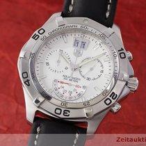 TAG Heuer Aquaracer Chronograph Grande Date Edelstahl Ref....