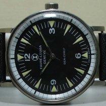 Favre-Leuba Seachief Geneve Winding Swiss Mens Wrist Watch old...