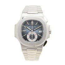 Patek Philippe Nautilus Stainless Steel Blue Automatic...