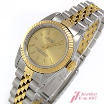 Rolex Lady Oyster Perpetual 25 mm - Automatik - Stahl/Gold -