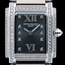 Patek Philippe Twenty 4 en or blanc et diamants