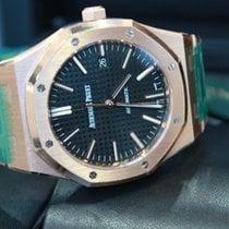 Audemars Piguet Royal Oak 41mm Automatic Black Dial 18kt Rose...