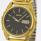 Seiko Men's Alaska Gold Nuggets Watch with Diamonds Day...