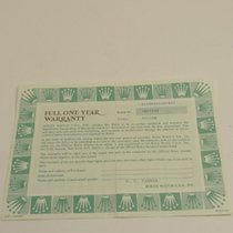 Rolex Warranty Certificate Ref: 14000