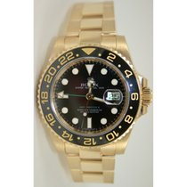 Rolex GMT Master II 116718 Ceramic Bezel Black Dial in 18K...