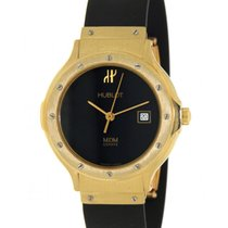 Hublot Classic Yellow Gold, Rubber, 28mm